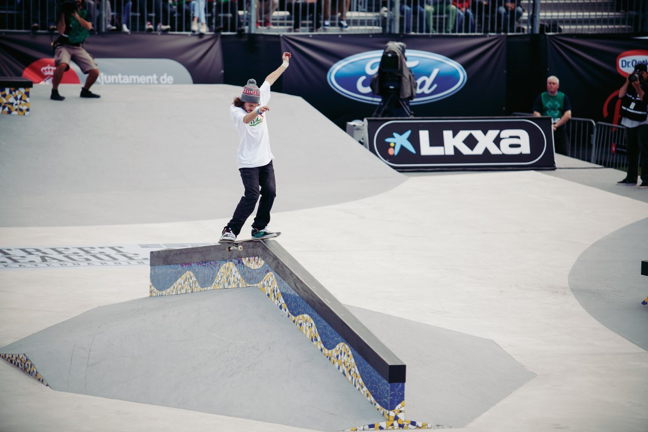 Torey Pudwill fs lipslide from ground