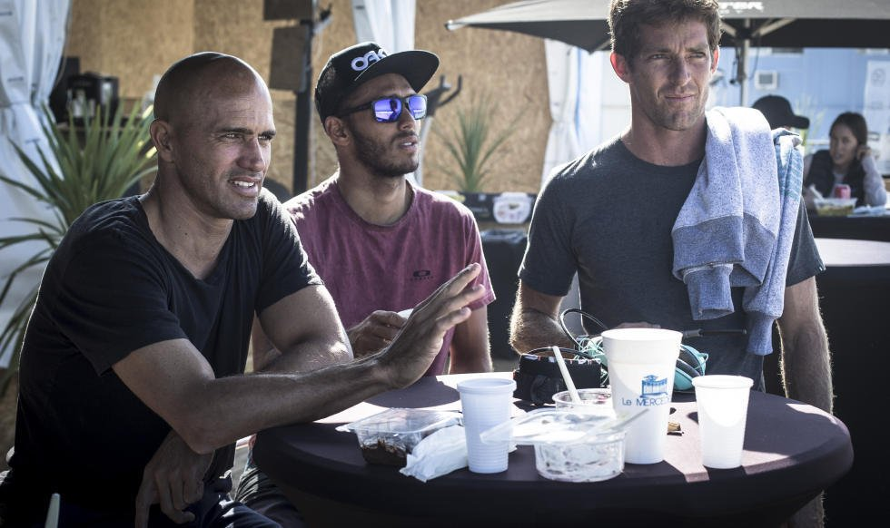Kelly Slater a Jadson Andre