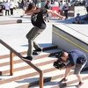 Nyjah Houston, Chris Cole a DC demo v Kodani