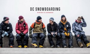 DC Shoes lookbook - Horgmo, Rice, Walsh, Backstrom a ďalší
