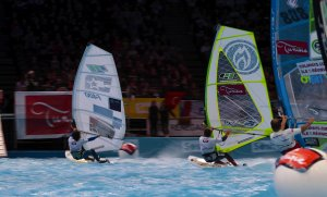 Indoor Windsurfing Paríž 2016