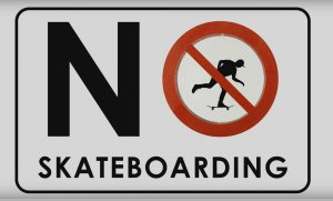 No Skateboarding? Serieme vám na to!