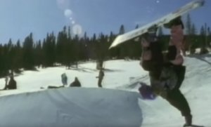 Retro: Burton Snowboards - Scream Of Consciousness 1991