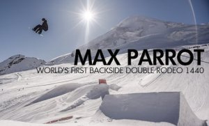 Max Parrot a prvé Double Backside Rodeo 1440 na svete