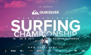 Quiksilver & Roxy Czech and Slovak Surfing Championship 2017