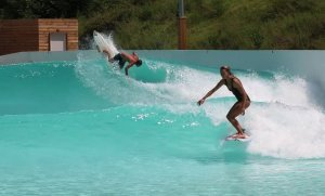 Summer Surf Session - Joan Duru & Maud Le Car