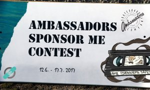Ambassadors sponsor me video contest