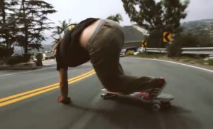 Nadupané longboard video of Caliber Truck Co. - Noah Fischer