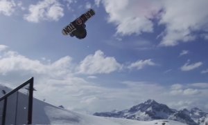 Mark McMorris a jeho FB BS doublecork 1170 z railu