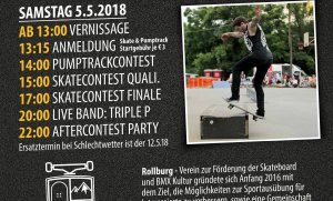 Skatecontest a vernisáž v Hainburgu