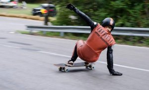 Johnys Hill - Longboard freeride event