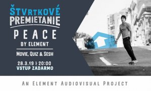 Hangair Skate night - PEACE by Element, quiz & sesh