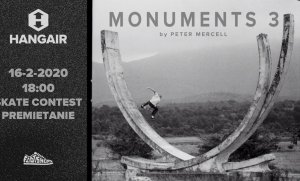 Skate Night: Monuments 3 by Peter Mercell + Skate Contest