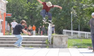 Video z GO Skateboarding Day 2020 v Martine