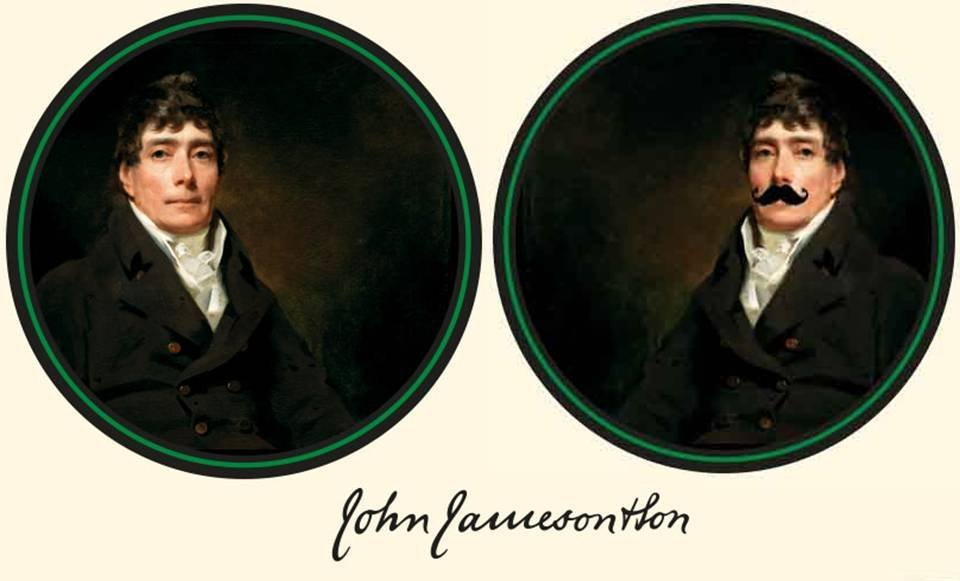 John Jameson moustache